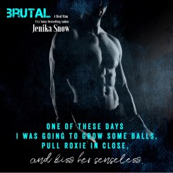 SPOTLIGHT: 'Brutal' by Jenika Snow