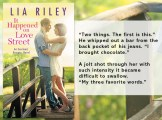 SPOTLIGHT/GIVEAWAY: 'It Happened on Love Street' by Lia Riley