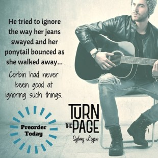 COVER REVEAL: 'Turn the Page' by Sydney Logan