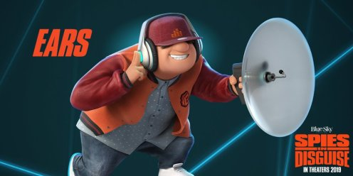 FIRST LOOK: Will Smith Stars in Spies in Disguise