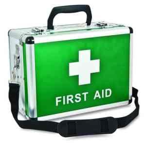 Aluminium First Aid Case - Large