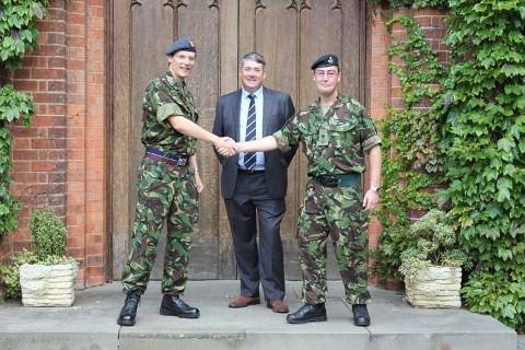 Wessex RFCA Schools Cadet Expansion Programme Gloucestershire