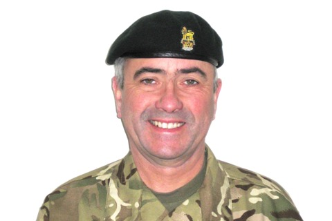 Colonel David Carson has been appointed Colonel Cadets