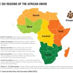 The Six Regions Of The African Union West Africa Gateway Portail De L Afrique De L Ouest