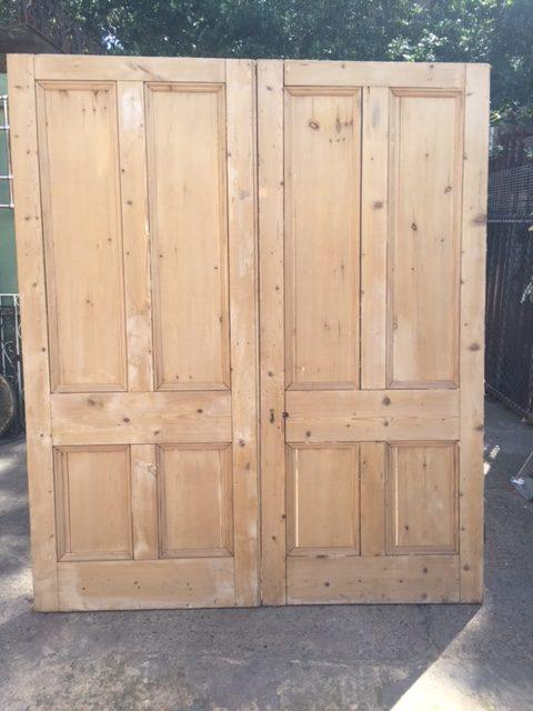 Pair of Victorian 4 panel doors