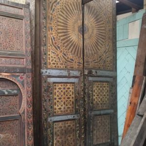 Large Pair of Moorish Doors