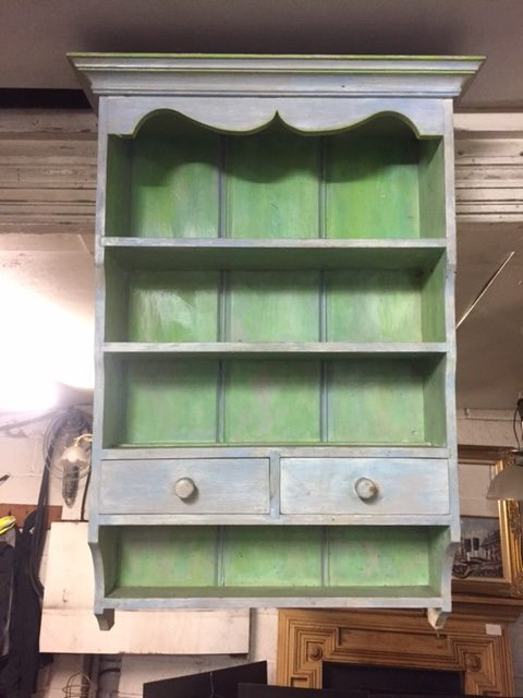 Rustic Painted Pine Unit