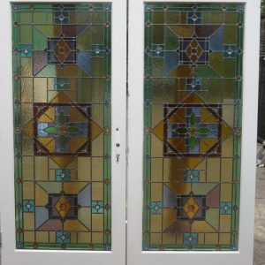 Colored Glass Door