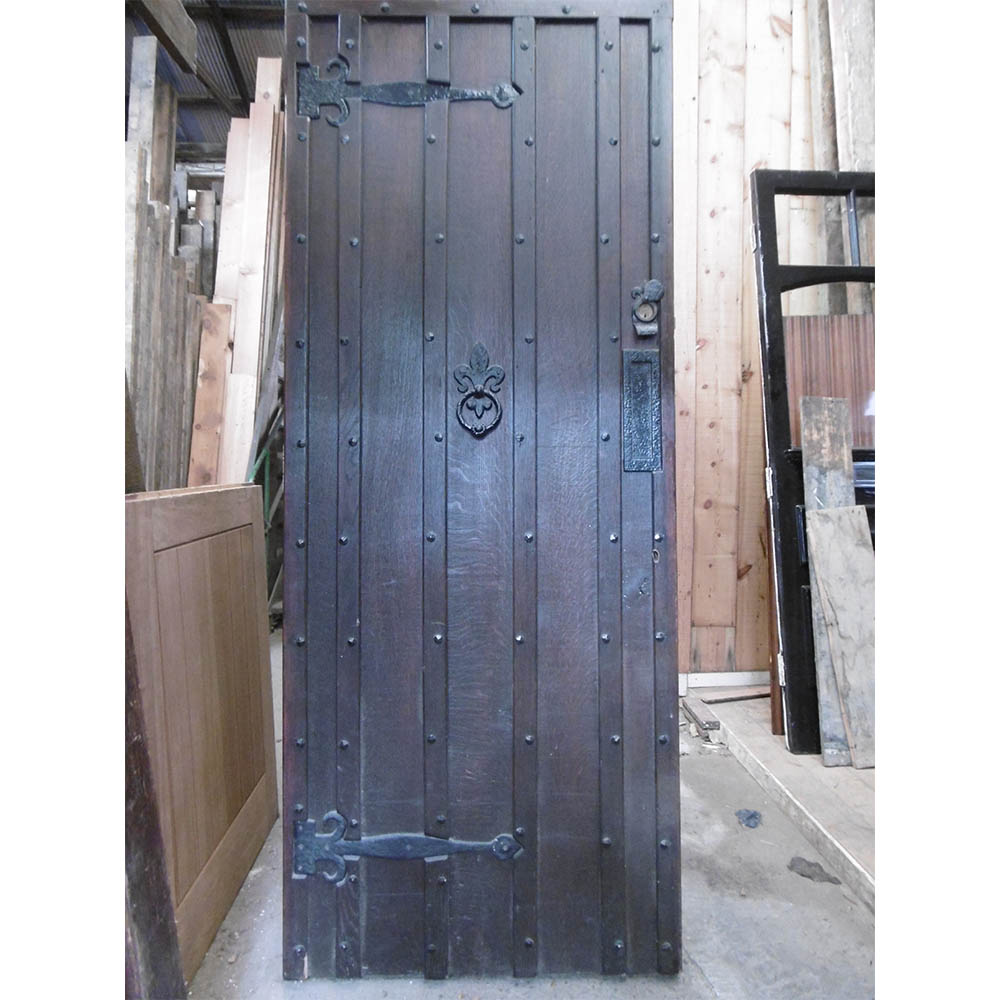 Oak Ledge Braced Door  sc 1 st  West 7 Reclamation & Oak Ledge Braced Door - West 7 Reclamation