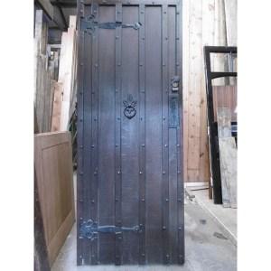 Oak Ledge Braced Door