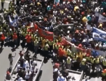 South Africans march on streets, ask Nigerians to forgive them