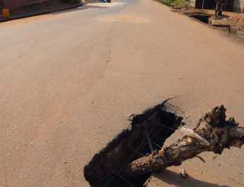 Despite N89.3 million allocation, Ajele road remains abandoned