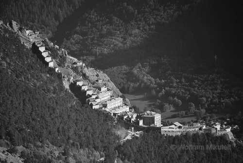 Forte di Fenestrelle - 635 Meter Höhenunterschied