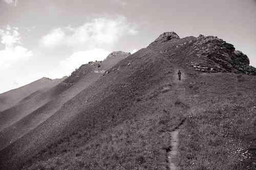 zwischen Colle dei Signori und Monte Saccarello