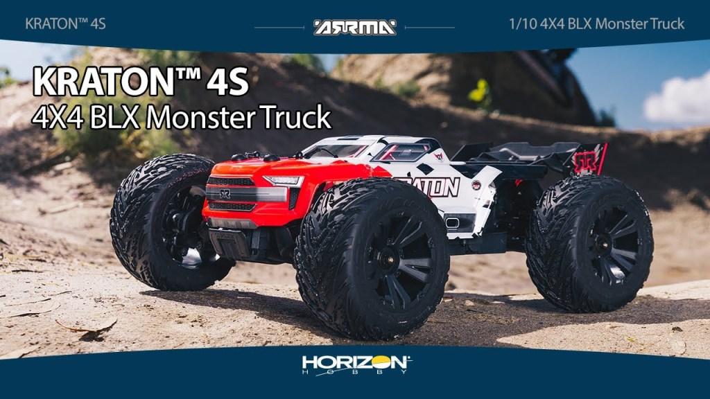 ARRMA® KRATON™ 4X4 - 1/10 4S BLX Monster Truck