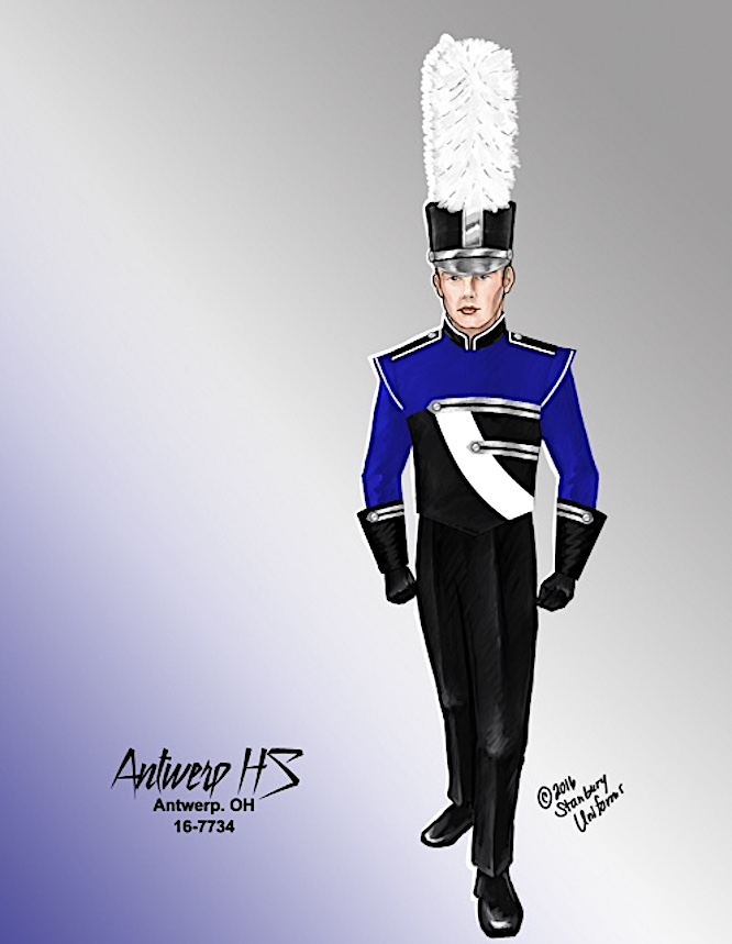 Antwerp Marching Band Funds Raised for New Uniforms | West