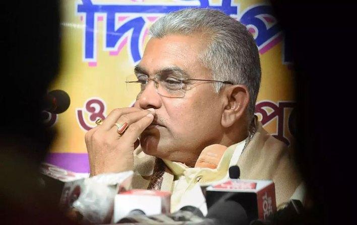 West Bengal Election News : ২৪ ঘণ্টার জন্য Dilip Ghosh -কে ব্যান করল নির্বাচন কমিশন - West Bengal News 24