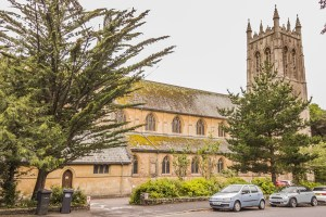 Listed Buildings in Westbourne. St Ambrose Church, West Cliff Road, Westbourne