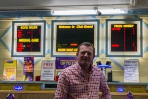 Simon Bartlam. The Grand Bingo, Westbourne.