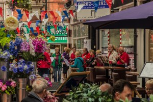 Westbourne in Bloom and Ukulele band
