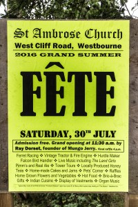 St Ambrose Church Fete