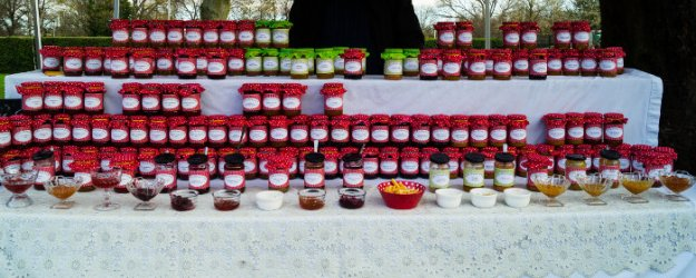 Jam Stall at West Bridgford Famers Market