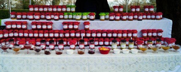 Jam Stall at West Bridgford Famers Market