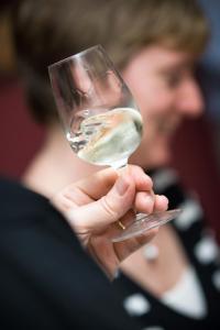 Wine tasting at Belle & Jerome