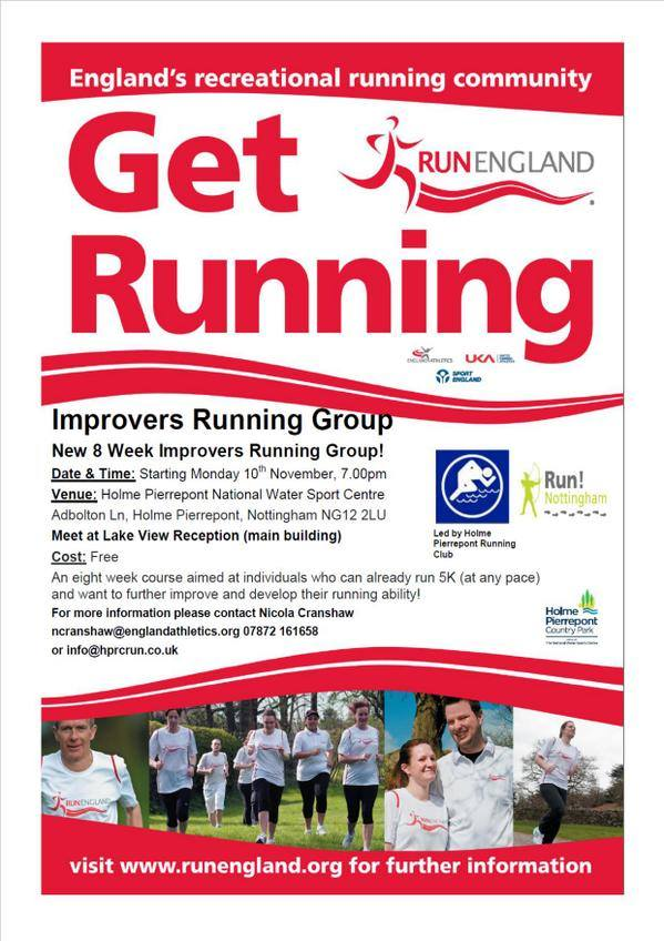 Holme Pierrepont Running Club improvers group
