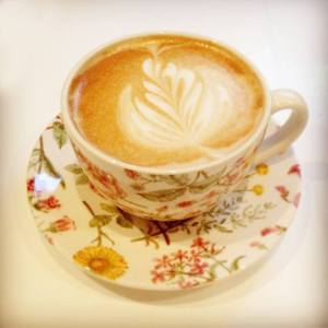 Coffee at Tiffin Teahouse, West Bridgford