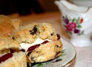 Scone at Tiffin Teahouse, West Bridgford