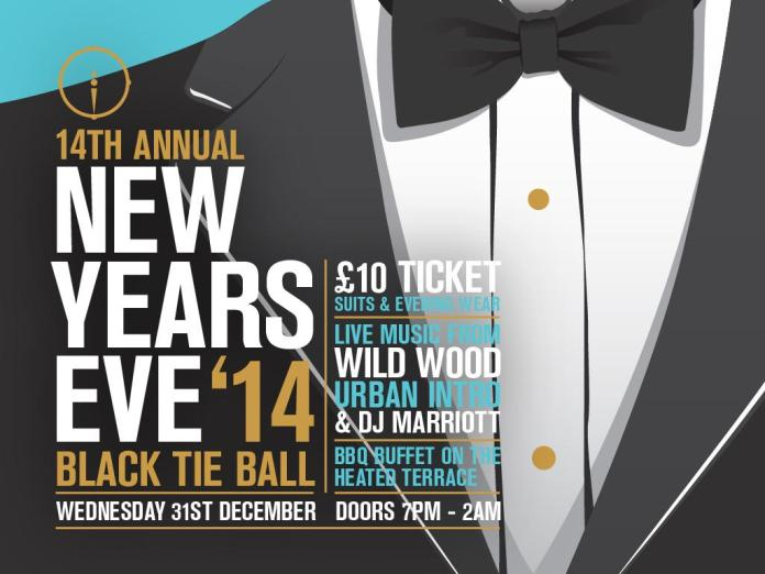 New Year's Eve 2014 at the Southbank Bar, West Bridgford