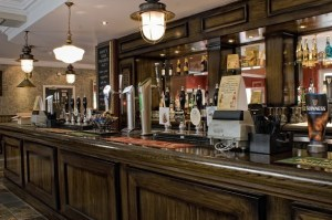 Bar at the Trent Navigation