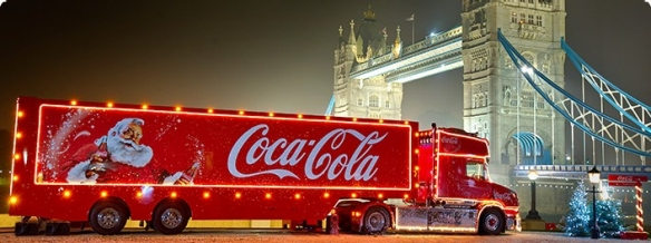 Coca Cola Truck to visit West Bridgford