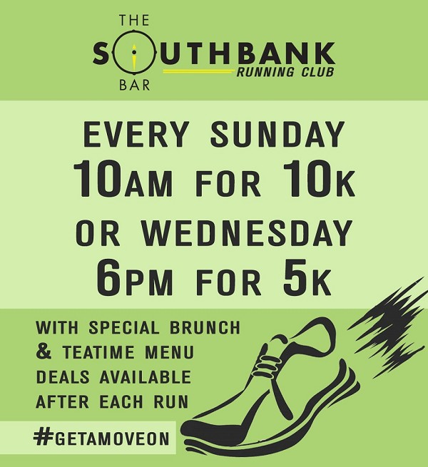 Southbank Running Club Poster