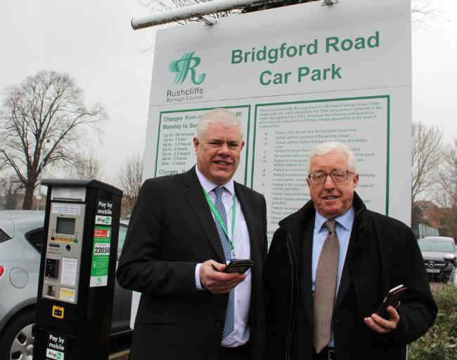 Car parking prices in West Bridgford