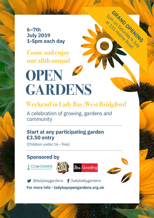 Lady Bay Open Gardens 2019