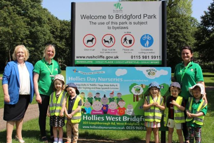 Bridgford Park sponsorship