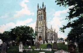 Christchurch, 1911. Postcard, Sandwell Archives.