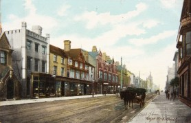 High Street, 1900. Postcard, Sandwell Archives.