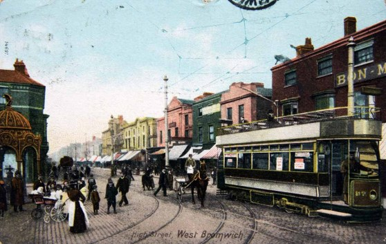 Postcard 1907, Sandwell Archives.