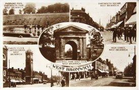 Postcard 1940s, Sandwell Archives.