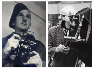 Albert (left) in 1945 and (right) in 1973.