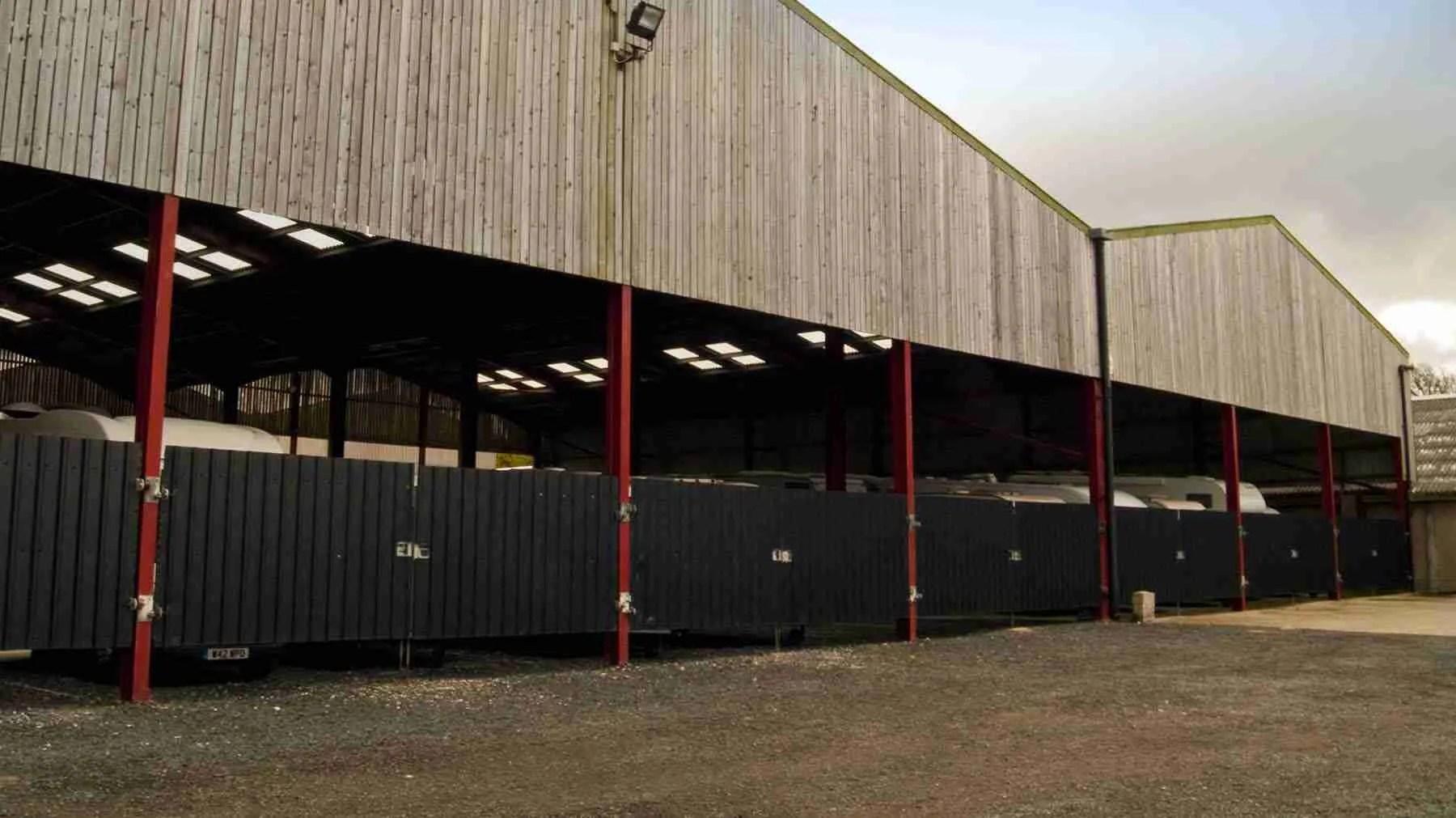indoor caravan storage near blackpool