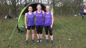 West Cheshire AC Ladies at Baschurch