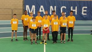 Cheshire Under 13 Boys Sportshall Athletics Squad