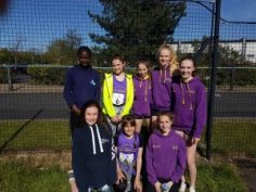 West Cheshire YDL U13 girls at Preston