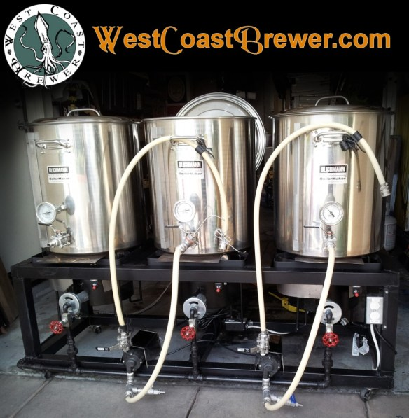 Home Brewing Stands, Beer Brewing Rigs and Home Brewer Racks