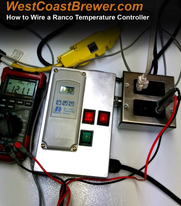 How to Wire a Ranco Digital Temperature Controller