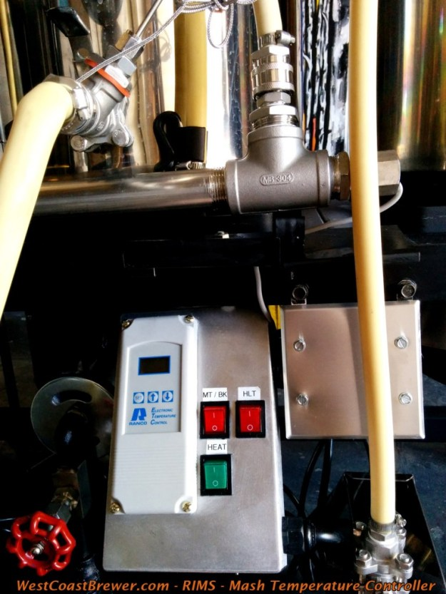 RIMS, Mash Temperature Controller